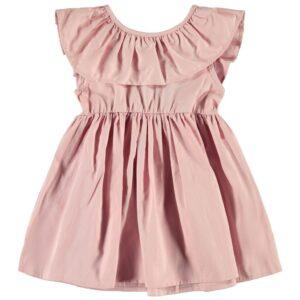 Φόρεμα με βολάν Dusty Pink Name It