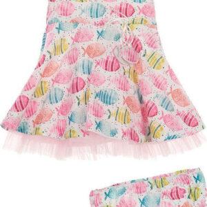 Φόρεμα με ψαράκια Marasil Baby