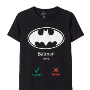 Μπλούζα κοντομάνικη Batman Name It
