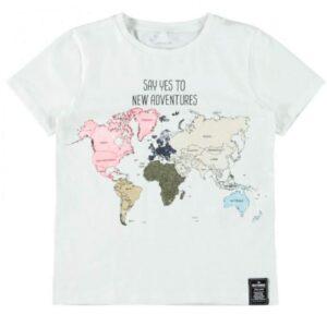 Μπλούζα χάρτης Name It