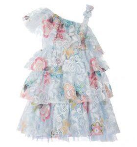 Φόρεμα δαντέλα Layers Pierre Cardin
