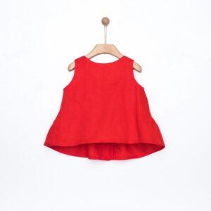 Μπλούζα κόκκινη λινή Yell-oh!