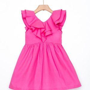Φόρεμα με βολάν Yell-oh!