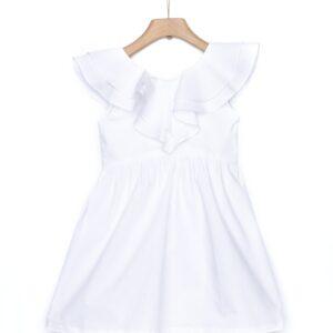 Φόρεμα με διπλό βολάν Yell-oh!