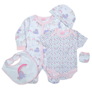 Σετ 5pcs Unicorn New Born Rock A Bye