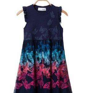 Φόρεμα με πεταλούδες Desigual