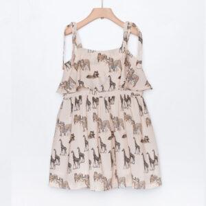 Φόρεμα Nude Giraffe Yell-oh