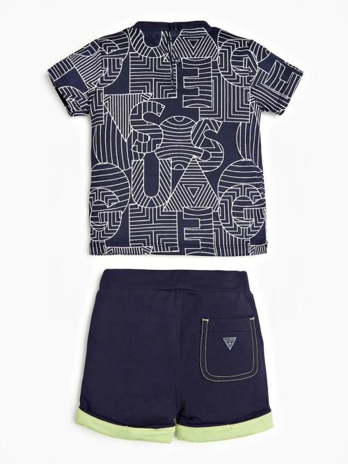 Guess-Bebe-Σετ-T-shirtShort-Αγόρι-I02G00K5M20-FT08_e-dshop-1