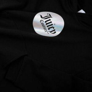 Φούτερ μαύρο Crop Juicy Couture 3