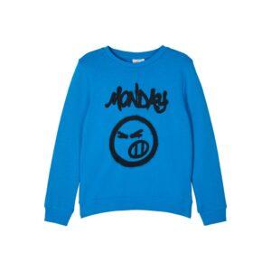 Μπλούζα φούτερ μπλε ρουα By Name It
