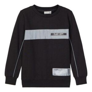 Μπλούζα φούτερ με λεπτομέρειες Reflect By Name It