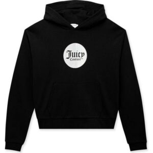 Hoodies Black Crop By Juicy Couture