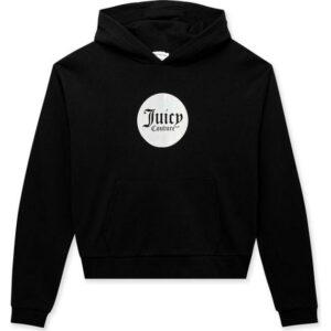 Hoodies Black Crop By Juicy Couture