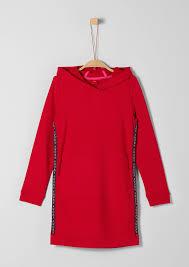 Φόρεμα φούτερ με κουκούλα S.Oliver