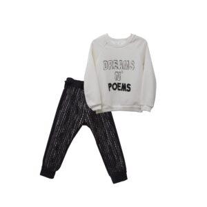 Set μπλούζα με Boho παντελόνι Two In A Castle