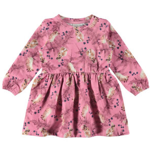 Φόρεμα φούτερ με λαγουδάκια Name It