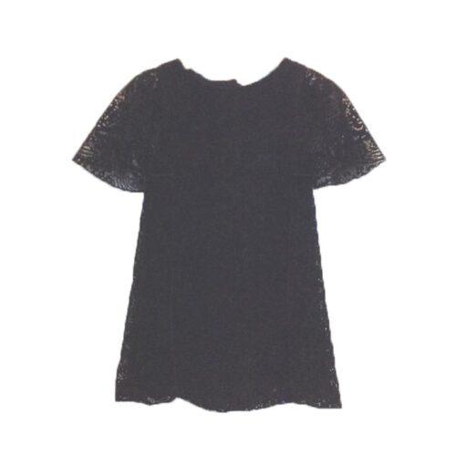 Φόρεμα_δαντέλα_μαύρο_βελούδο_της_Yellowsub