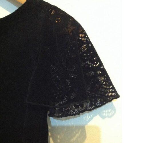 Φόρεμα_δαντέλα_μαύρο_βελούδο_της_Yellowsub__2