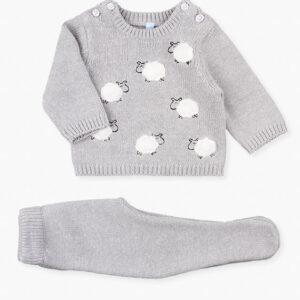 Set Sweatshirt And Trousers Grey Losan
