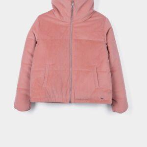 Jacket Velour Old Pink Tiffosi