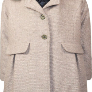 Παλτό Grey-pink με γούνα Energiers