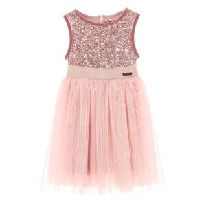 Φόρεμα με τούλι ροζ/μπλε Marasil