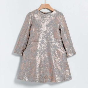 Φόρεμα φούτερ Grey Copper Yell-oh