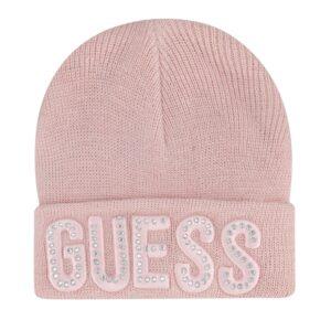 Σκουφάκι ροζ Guess