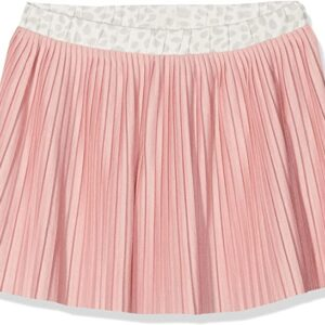Φούστα ροζ με πιέτες S.Oliver