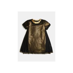 Φόρεμα διπλό χρυσό/μαύρο Guess