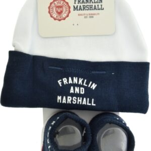 Set 2pcs Hat And Booties Franklin Marshall