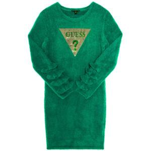 Dress Mohair Green Guess