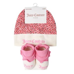Set Hat And Booties Juicy Couture