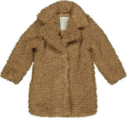 Παλτό μπουκλέ Camel Trybeyond