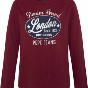 Μπλούζα Μ/Μ Bordeaux Pepe Jeans