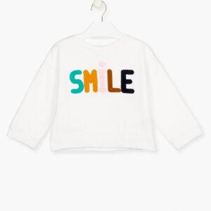 Μπλούζα φούτερ SMILE Losan