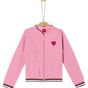 Ζακέτα Pink With Glitter Details S.Oliver