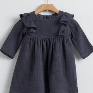 Dress Anthracite Yell-oh
