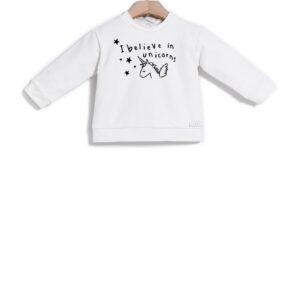 Μπλούζα φούτερ Print Unicorn Yell-oh