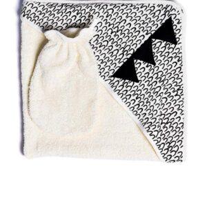Μπουρνοζοπετσέτα με κουκούλα Print Dragon Yell-oh