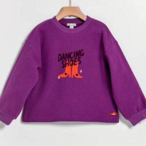 Μπλούζα φούτερ Purple Dancing Shoes Yell-oh