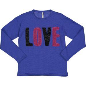Πουλόβερ Purple LOVE Trybeyond
