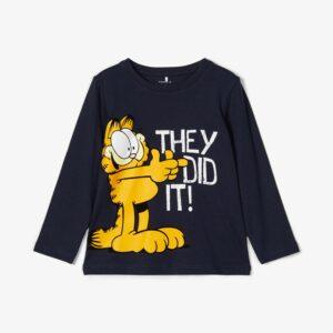 Μπλούζα Navy Garfield&Odie Name It