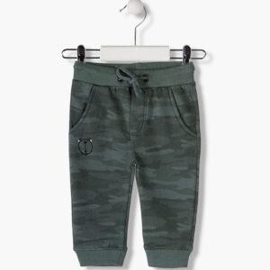Παντελόνι φούτερ Army Print Losan