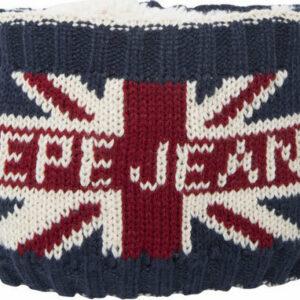 Κασκόλ λαιμός με επένδυση Pepe Jeans