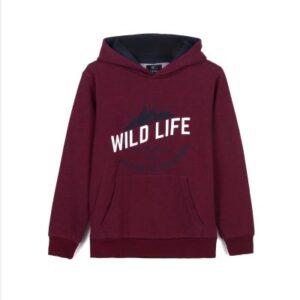 """Μπλούζα φούτερ """"WILD LIFE"""" Tiffosi"""