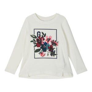 Μπλούζα Μ/Μ Snow White Print Floral Name It