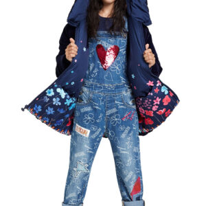 Σαλοπέτα Denim With Reversible Sequins Desigual