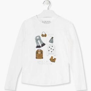 Μπλούζα Μ/Μ Print Winter Losan