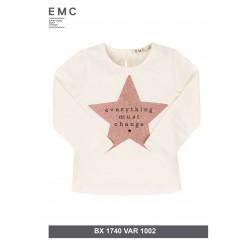 Μπλούζα Μ/Μ With Glitter Stars EMC